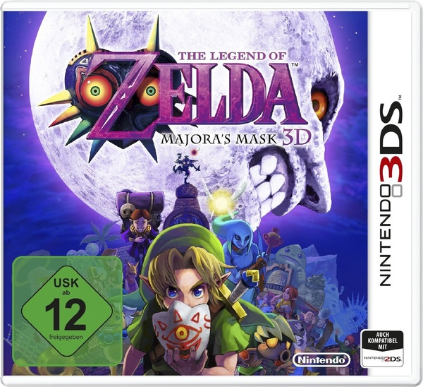 Cover zu The Legend of Zelda: Majora's Mask 3D