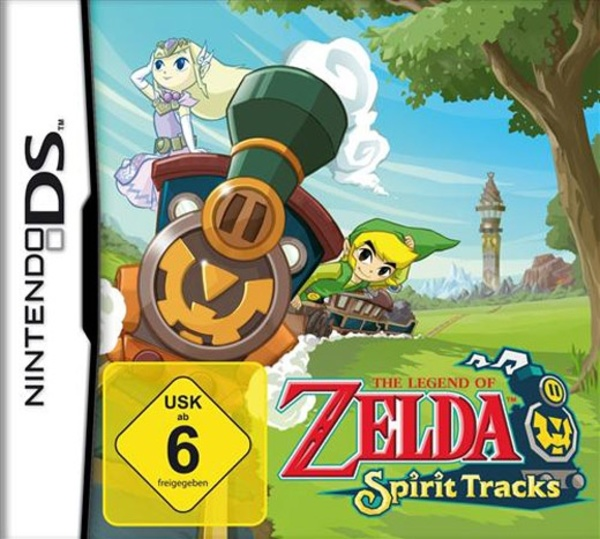 Cover zu The Legend of Zelda: Spirit Tracks