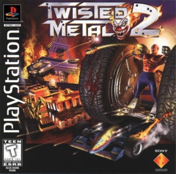 Cover zu Twisted Metal 2