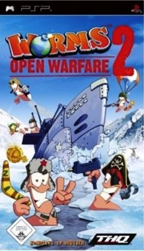Cover zu Worms: Open Warfare 2