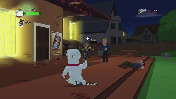 Screenshot zu Family Guy: Back to the Multiverse (PS3) - Screenshots