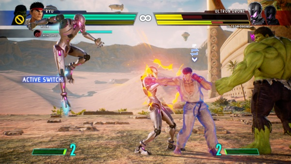 Screenshot zu Marvel vs. Capcom Infinite (PS4) - Screenshots