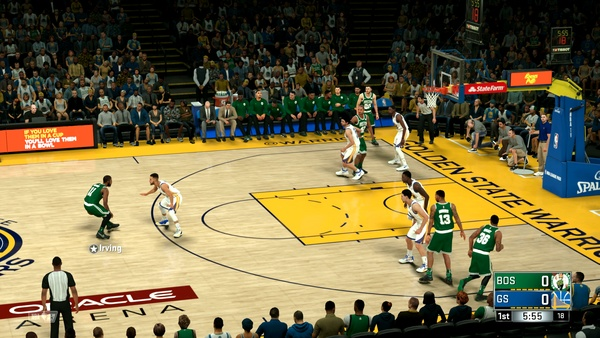 Screenshot zu NBA 2K18 (Nintendo Switch) - Screenshots