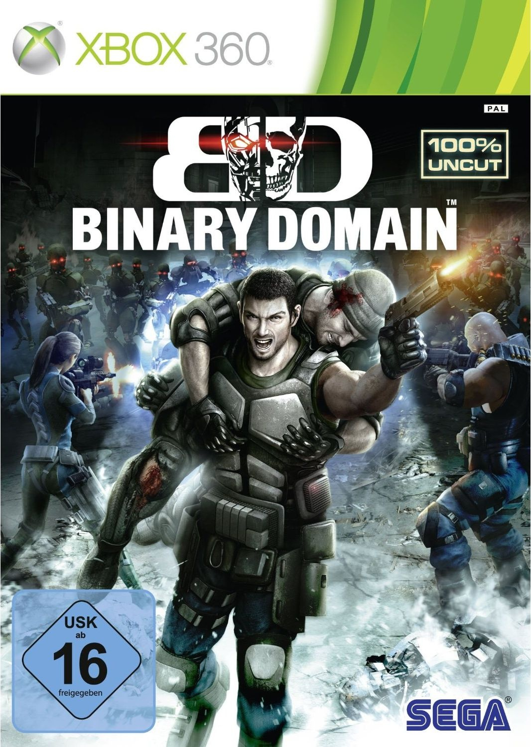 Infos, Test, News, Trailer zu Binary Domain - Xbox 360