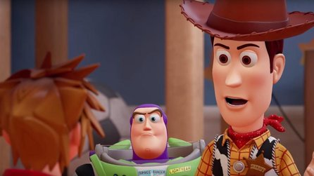 Kingdom Hearts 3 - Gameplay-Trailer enthüllt Toy Story-Welt & Release-Zeitraum