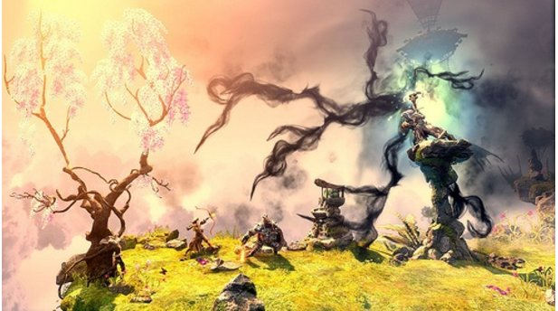 <b>Trine 2: Complete Story</b><br/>Screenshot von der PlayStation-4-Version