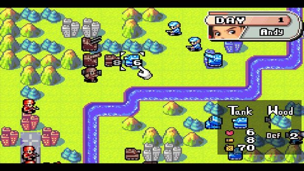Hexfeld-Titel: Advance Wars