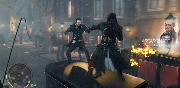Ob es in Assassin's Creed Victory Jack-the-Ripper-Slipeinlagen gibt? Wir sind gespannt.