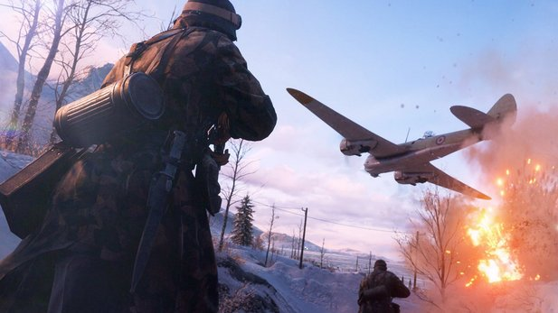 Battlefield 5 - Multiplayer-Gameplay von der E3 zeigt Schlacht in Norwegen