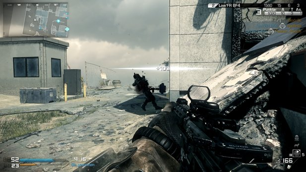 Der neue Patch für Call of Duty: Ghosts bringt den »Heavy Duty«-Modus.