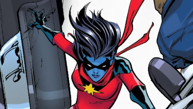 Minn-Erva aka Doctor Minerva in den Comics Captain Marvel.