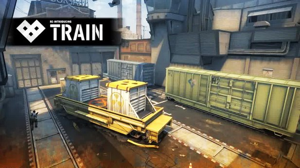 Counter-Strike: Global Offensive - Überarbeitete Version von Train im Entwickler-Video