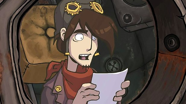 Deponia - Test-Video zum Schrottplatz-Adventure