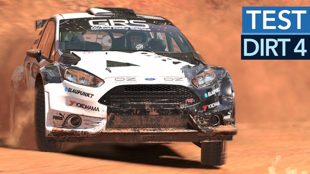 DiRT 4 - Test-Video zum Rallye-Hit
