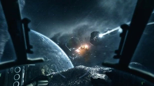 Gamescom-Trailer von EVE: Valkyrie