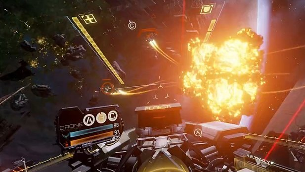 EVE: Valkyrie - Gameplay aus der Pre-Alpha-Version