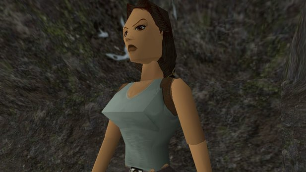 Lara Croft in jung