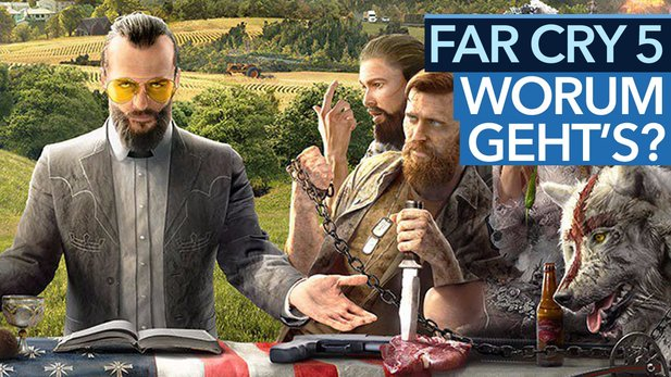Far Cry 5 - Video: Koop-Cops gegen Amerikas Religions-Fanatiker?