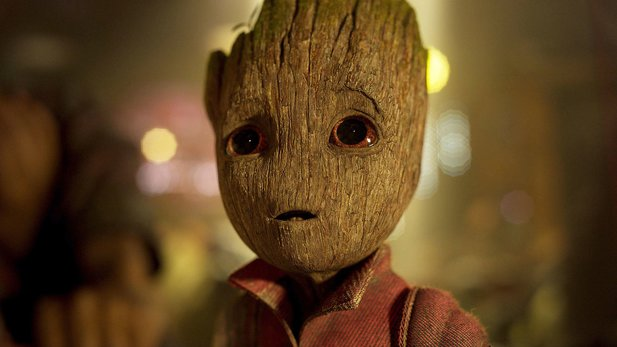 Gestatten: Groot aus Guardians of the Galaxy 2.