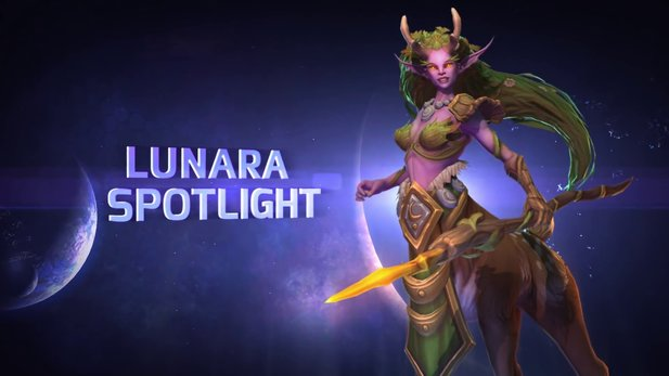 Heroes of the Storm - Helden-Spotlight: Lunara, die Dryade