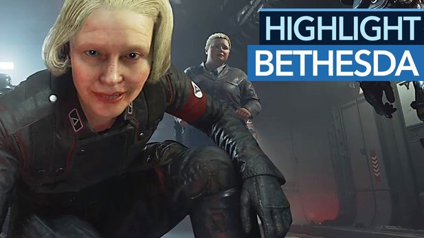 Highlight: Bethesda E3 2017 - BJ Blaskowicz rettet die USA!