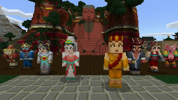 Minecraft - E3-Trailer stellt Cross-Platform-Gaming vor