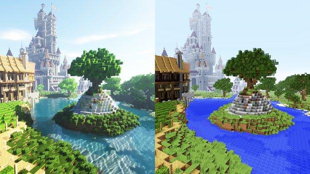 Minecrafts lang ersehntes Super Duper Grafik-Update wurde