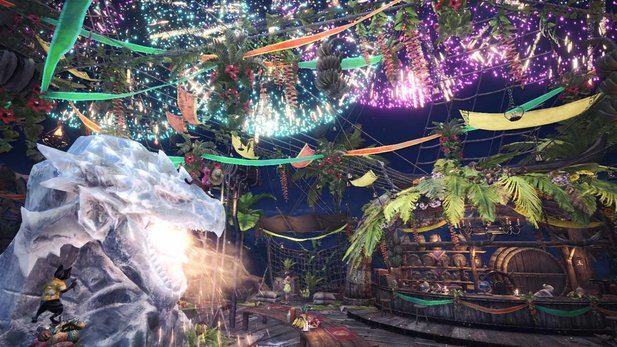 Monster Hunter World bringt die Astera-Feste zurück.