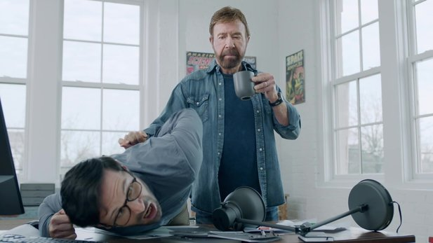 Nonstop Chuck Norris - Ankündigungs-Trailer zum Mobile-Actionspiel