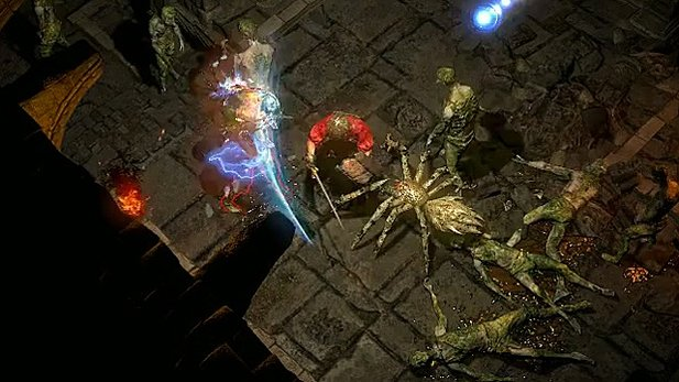Path of Exile - Dungeon-Spielszenen