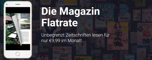 Readly - die Magazine-Flatrate