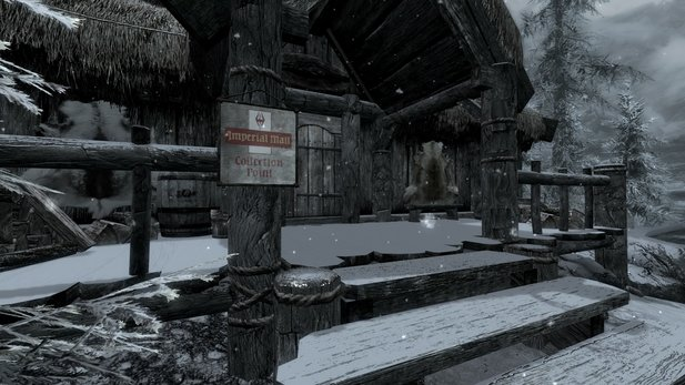 Skyrim Mod: Imperial Mail - Post and Banking Service