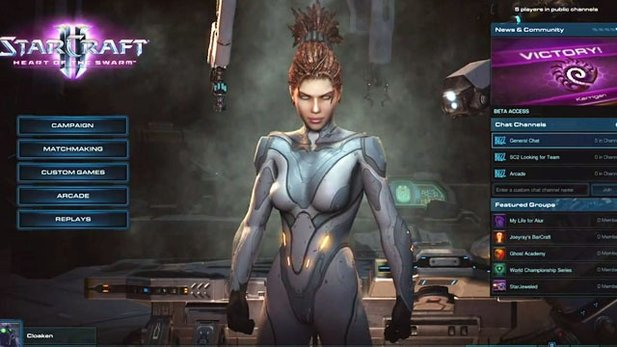 Feature-Video von StarCraft 2: Heart of the Swarm
