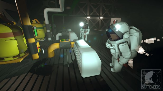 Stationeers biegt bald in die Early-Access-Phase sein.