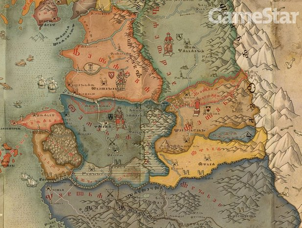 witcher karte The Witcher 2: Assassins of Kings   Exklusiv: Neue Karte der  witcher karte