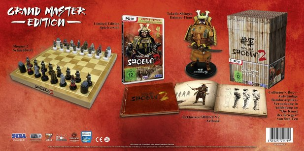 Grand Master Edition von Total War: Shogun 2.