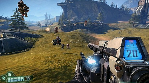 Gameplay-Trailer von Tribes: Ascend