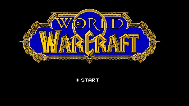 World of Warcraft auf dem NES: So sähe es aus.