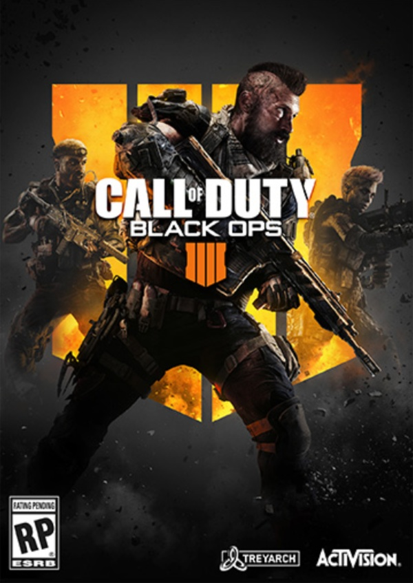 Cover zu Call of Duty: Black Ops 4