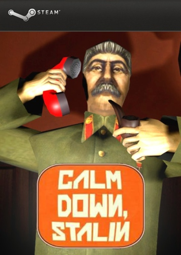 Cover zu Calm Down, Stalin