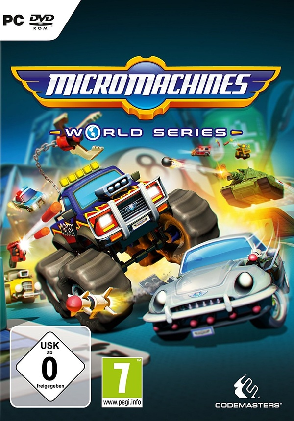 Cover zu Micro Machines World Series