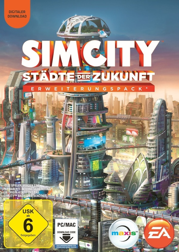 Cover zu SimCity: Cities of Tomorrow