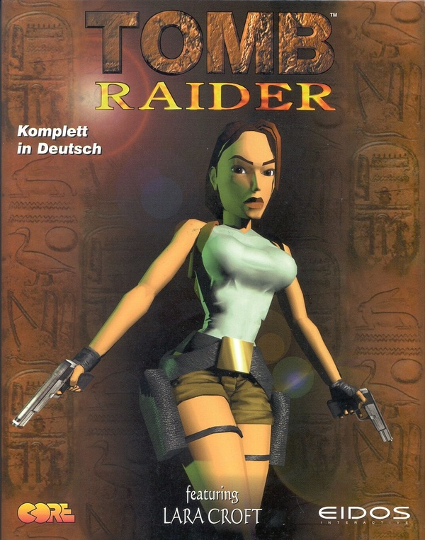 Cover zu Tomb Raider - featuring Lara Croft