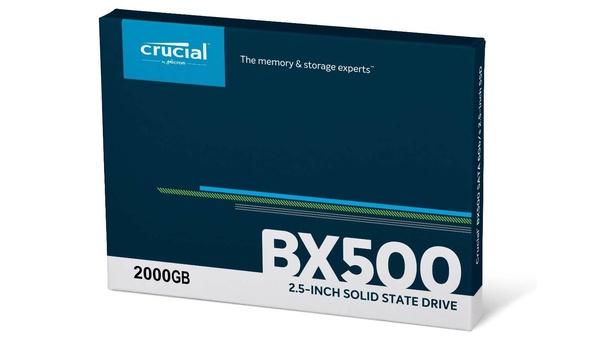 Crucial BX500 2TB SSD für 194 € – Angebote bei Amazon