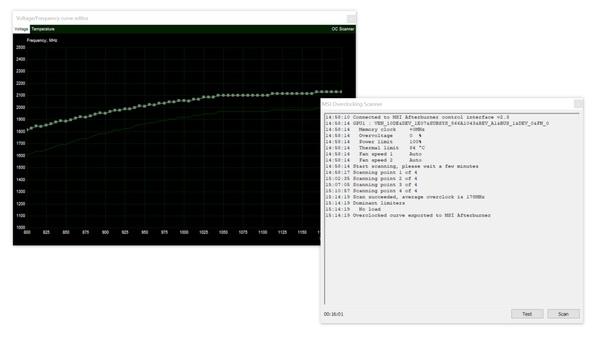 Geforce RTX 2080 (Ti) OC Scanner - Turing per Mausklick