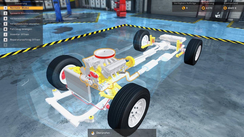 Auto-Werkstatt-Simulator 2015 im Test - Da muss was gemacht