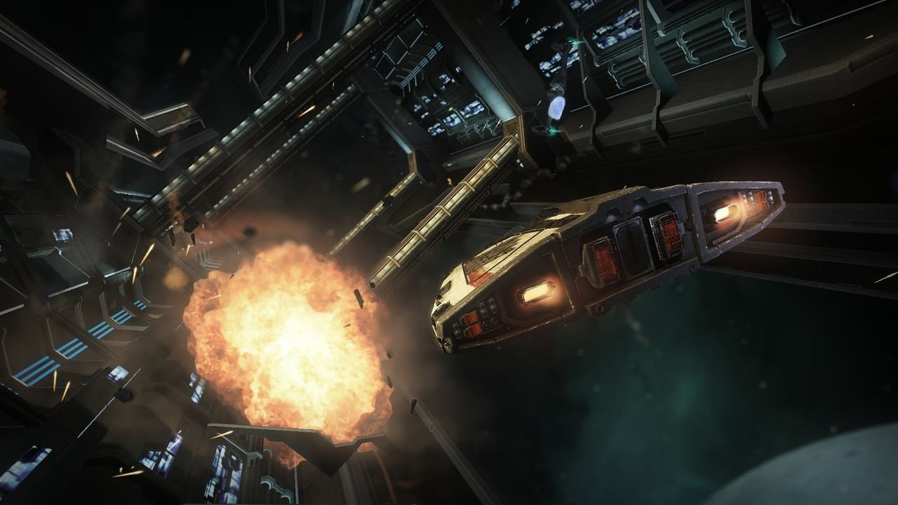 Elite: Dangerous - Support der Virtual-Reality-Brille Oculus