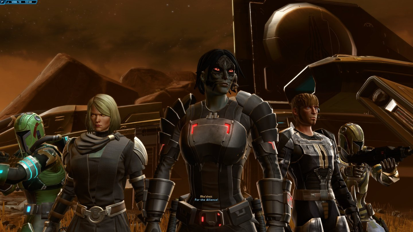 Star Wars The Old Republic Knights Of The Eternal Throne Diese