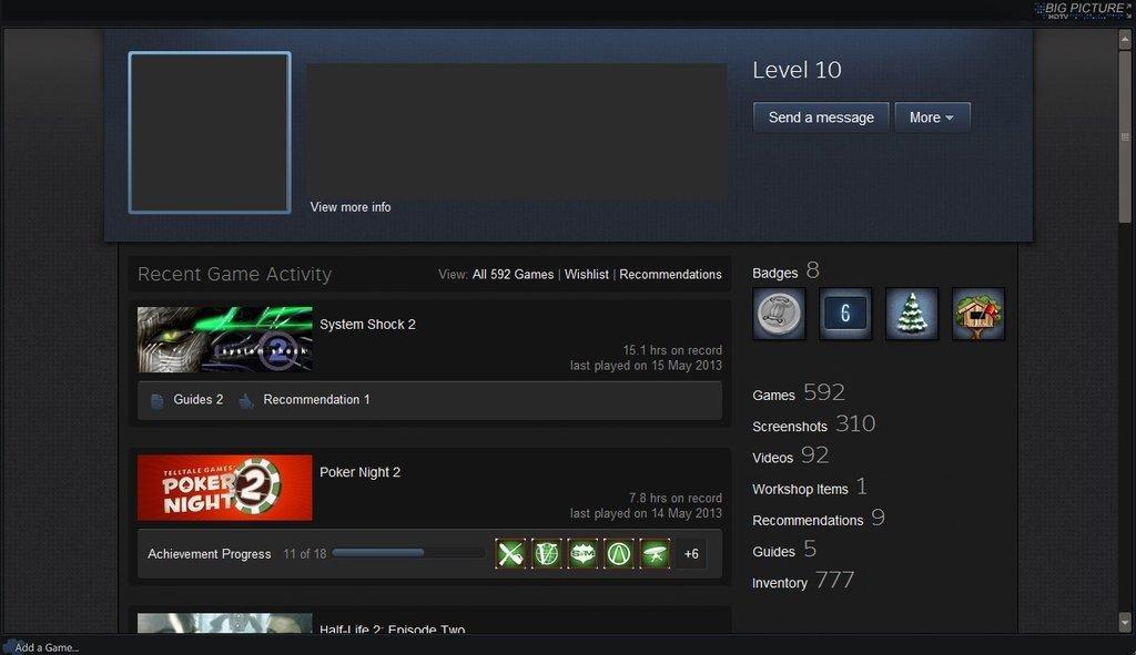 Steam Level Aufsteigen
