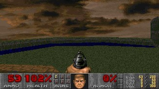 Himmel in Doom 2